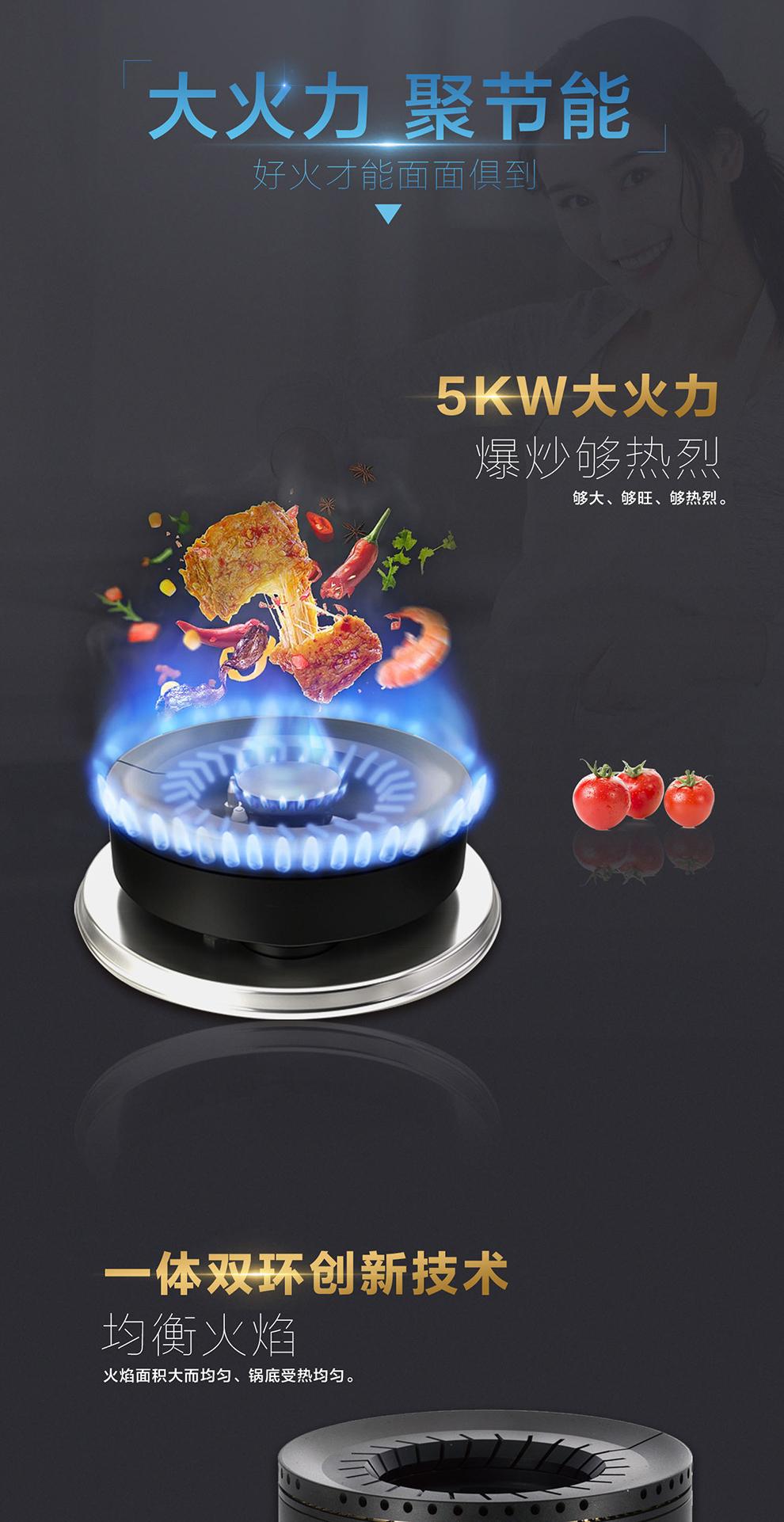聚能焰燃气灶SCG-6552S